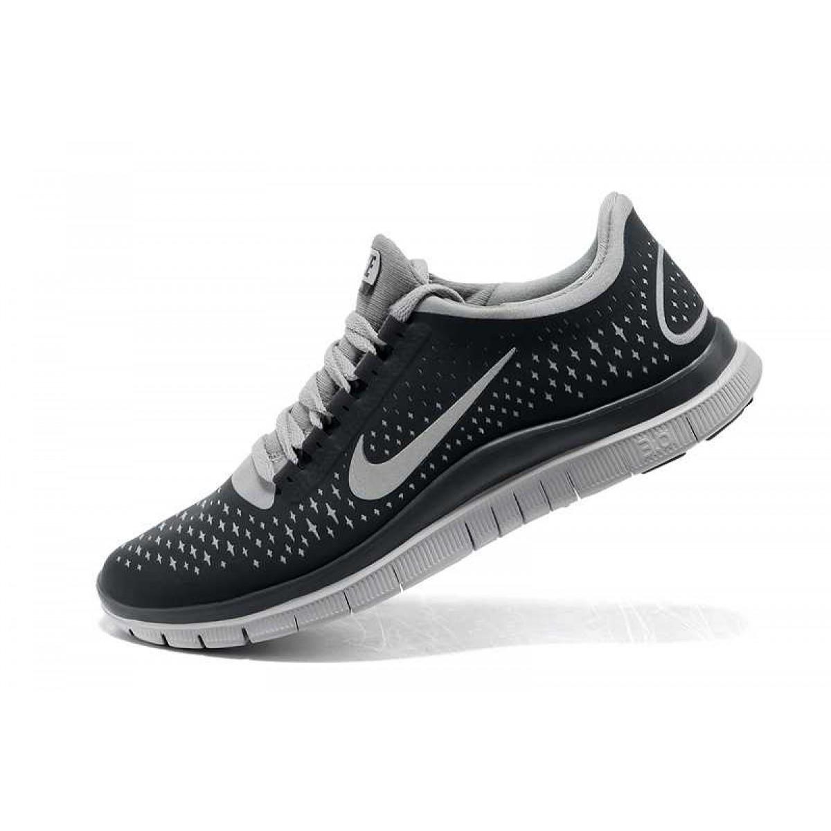 new arrival fd895 0b94c Homme Nike Free 3.0 V4 Chaussures Light Gris Blanc,nike free nike  elite,vente