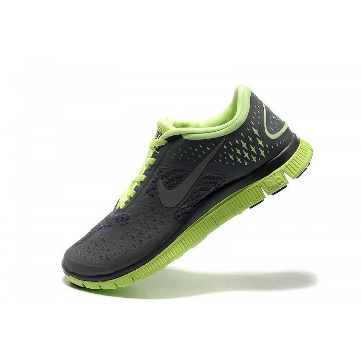 separation shoes 57bff 22216 Homme Nike Free 4.0 V2 Chaussures Gris Vert,nike free 5,styles dernier cri