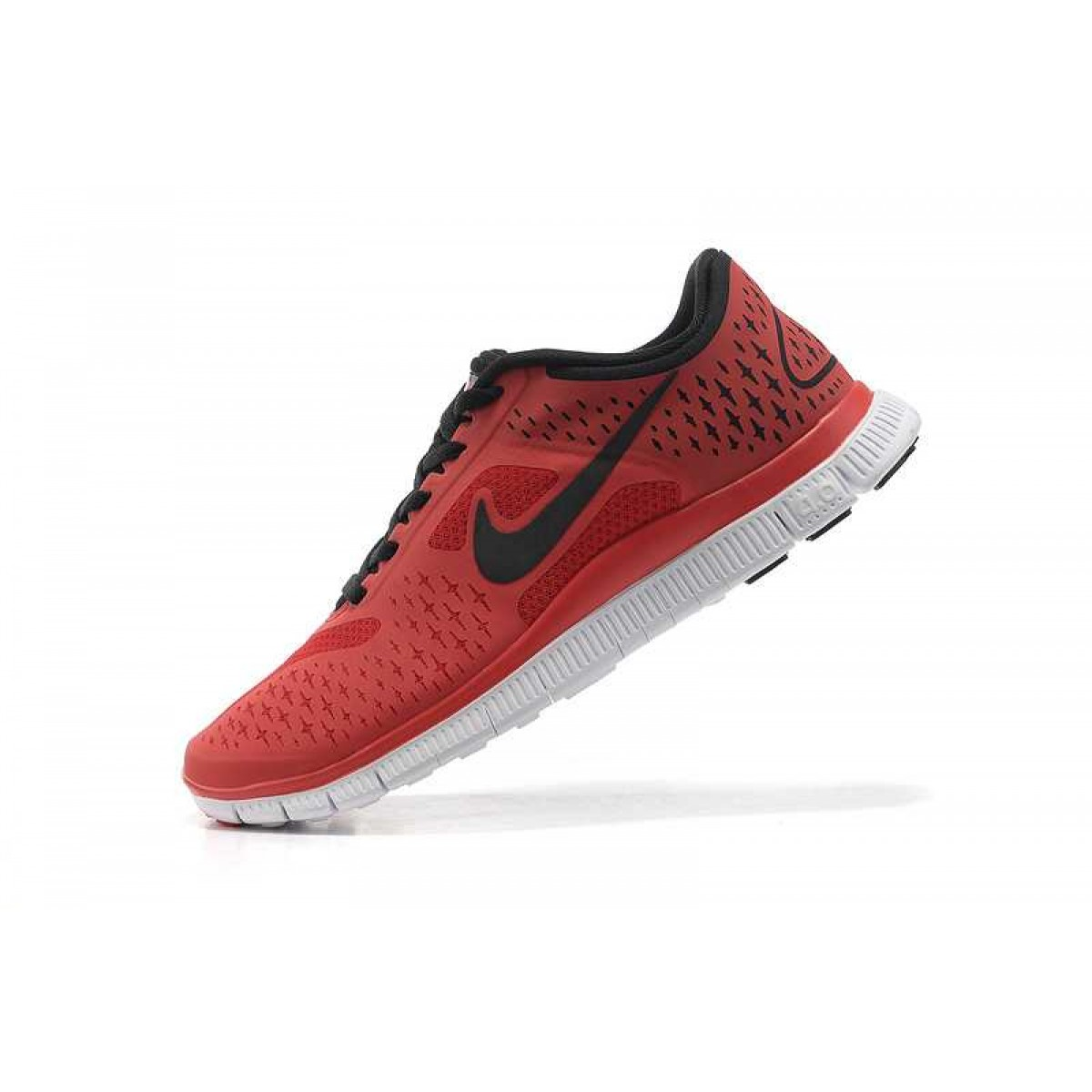 free shipping d4b0c d882a Homme Nike Free 4.0 V2 Chaussures Rouge Noir,nike free nike 6.0,qualité  supérieure