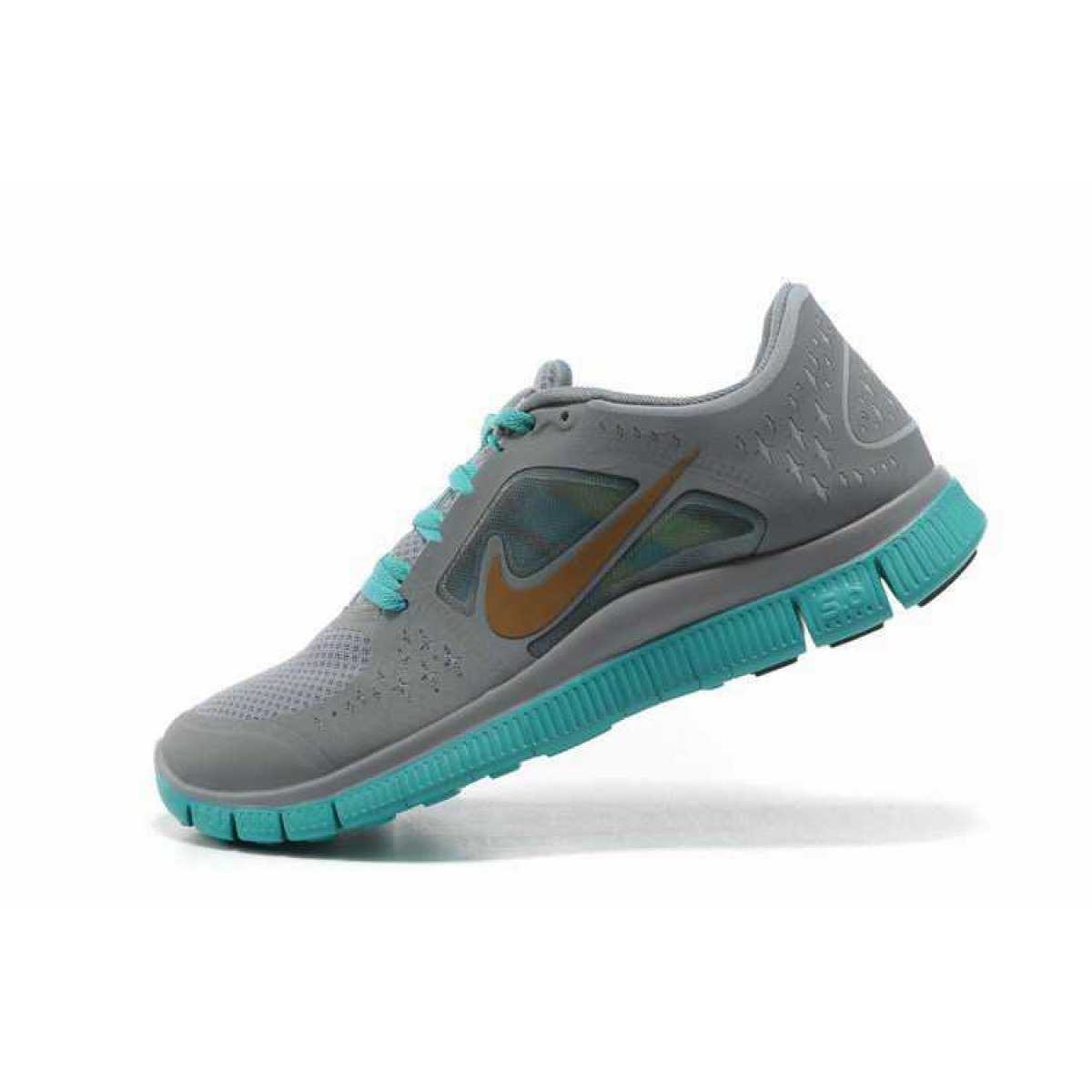 the best attitude ef5cc be940 Nike Free 5.0 V4 Homme Chaussures Gris Light Vert,nike free vetement pas  cher,