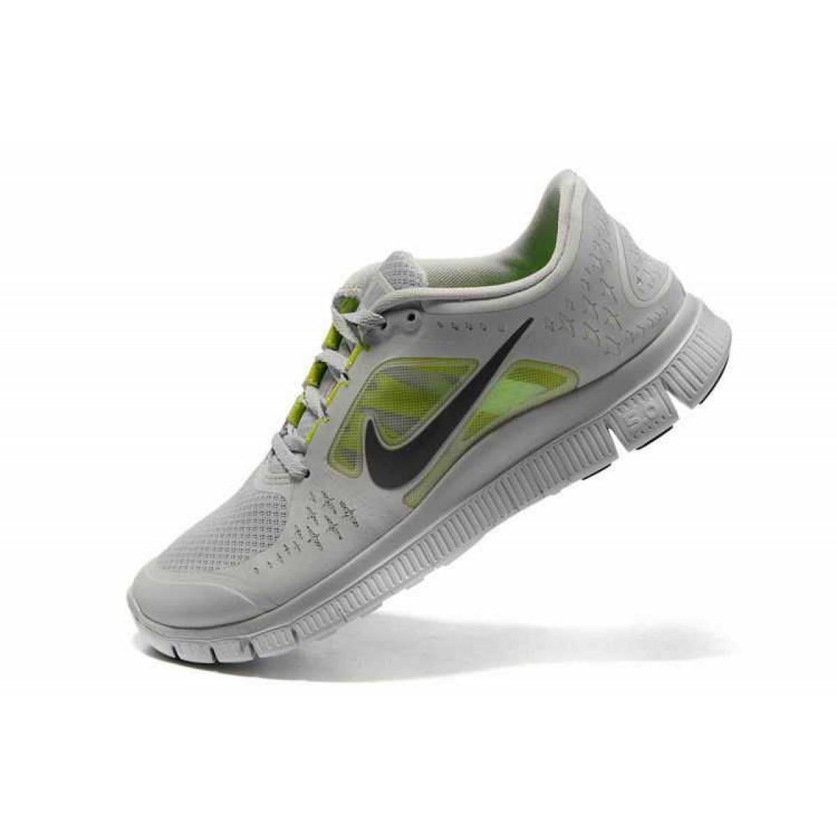 pretty nice eab62 acb08 Nike Free 5.0 V4 Homme Chaussures Blanc Vert,nike free free run,grande  marque
