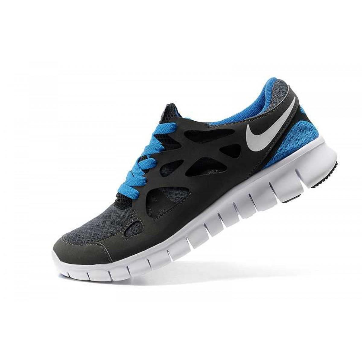 size 40 5ab15 90f7a Nike Free Run 2 Homme Chaussures Noir Bleu,nike free run 2,grande surprise