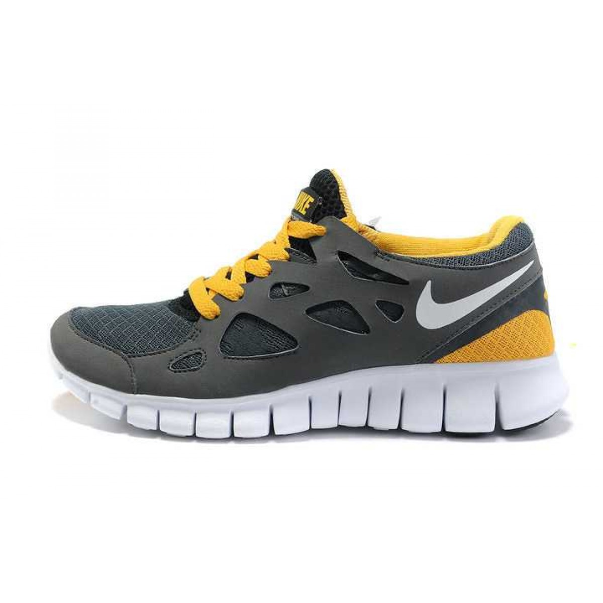 competitive price 5a55a d990c Nike Free Run 2 Homme Chaussures Gris Jaune,nike freerun,Pas Cher soldes  France