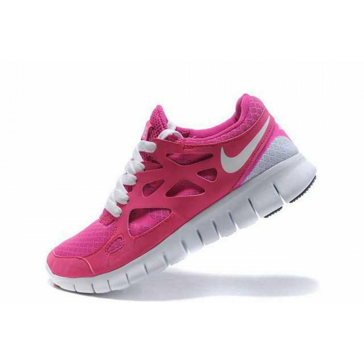 size 40 c7466 8a16e Nike Free Run 2 Femme Chaussures Rose Blanc,nike free bottes pas cher,en