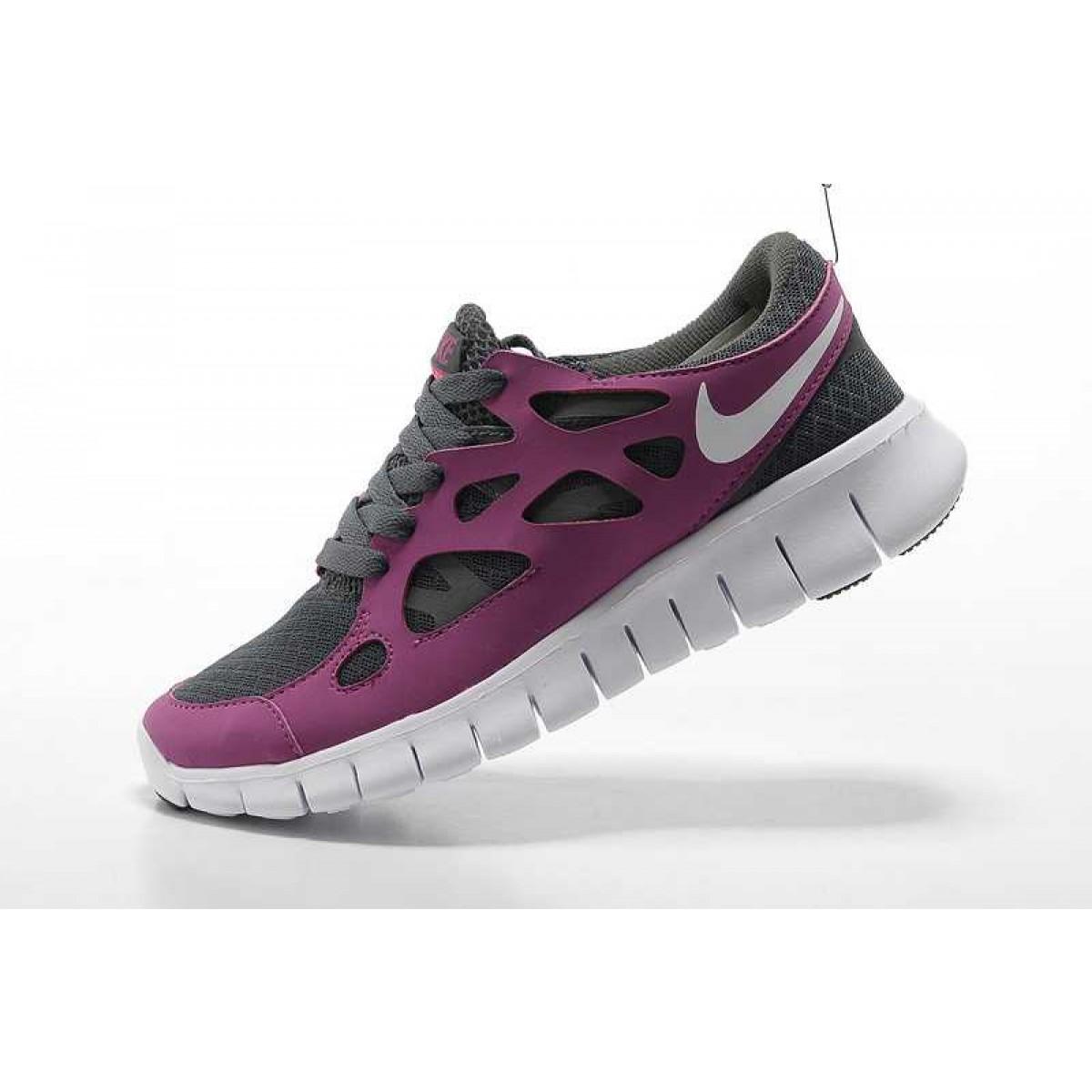 on sale bbe99 8435f Nike Free Run 2 Femme Chaussures Blanc Pourpre,nike free run 3,fashioniable,