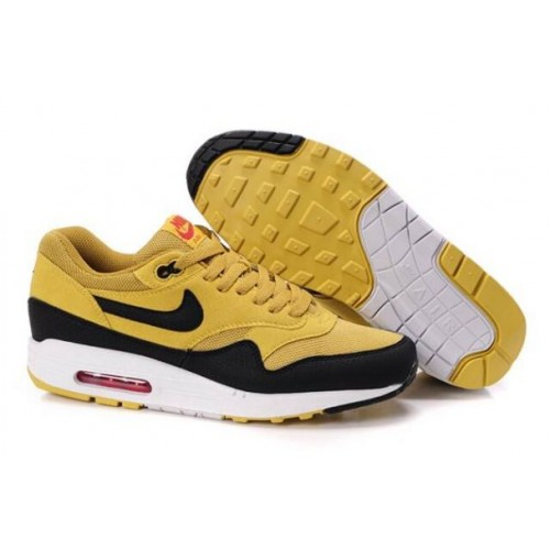 discount c7970 76530 France 2014 Nike Air Max 1 Homme Honeycomb Noir Blanc M1H018,nike free  chaussures