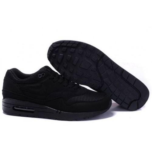 top fashion 2b18c c3185 Nike Air Max 1 Homme Noir Noir Boutique M1H035,nike free nike chaussure,