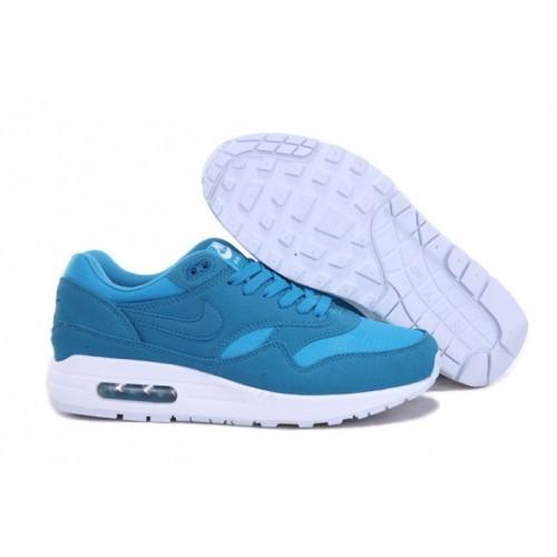 huge discount 4150c 19c38 Nike Air Max 1 Homme Nouveau RoralBleu Blanc M1H016,nike free shoes nike,