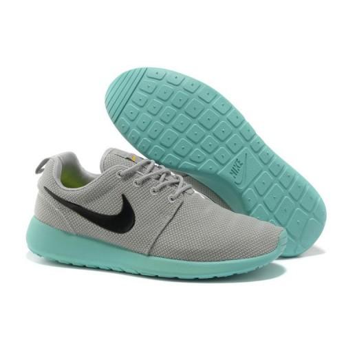 buy online a9a2e 31fcc Nike Roshe Run Femme Grise Rose Bleu Mesh,nike free 3,vente chaude,