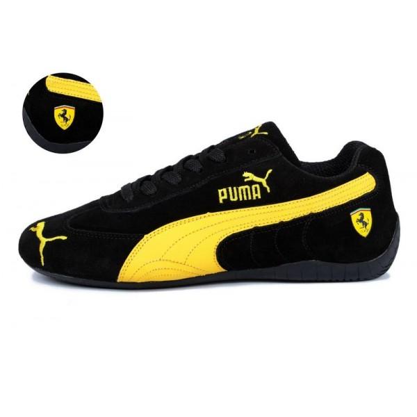 huge discount f0152 f68b9 Puma Speed Cat Ferrari Trainers Noir Jaune,puma moto,Pas Cher Magasin Soldes ,