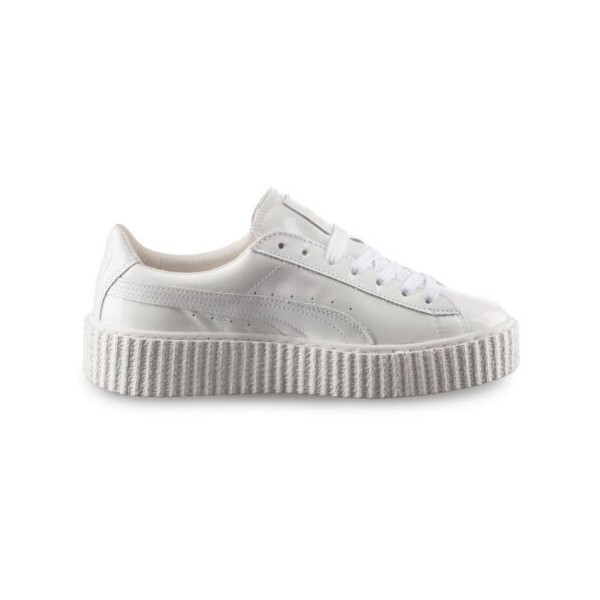 Rihanna Creepers By CuirBasket Puma Chaussure Oatmeal Homme ED2WH9YI