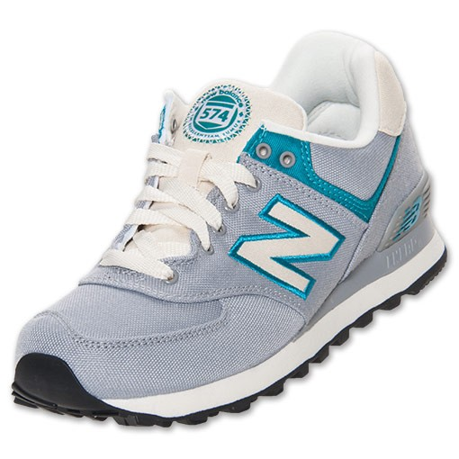 online retailer 95162 edda0 Soldes 574 Chaussures de toile Femme Rugby gris turq, new balance site  officiel,prix