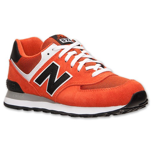 quality design 89863 71243 Soldes 574 Homme Suede chaussures occasionnels Orang, acheter new balance,acheter  new balance,