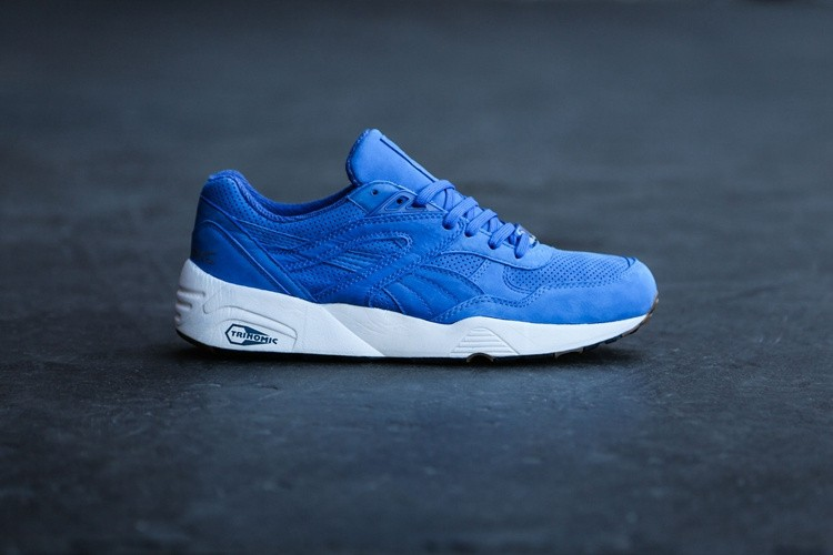 innovative design dd2fc 60613 puma trinomic R698 course 359314-02 mesh blanche bleu,puma 917 lo,soldes