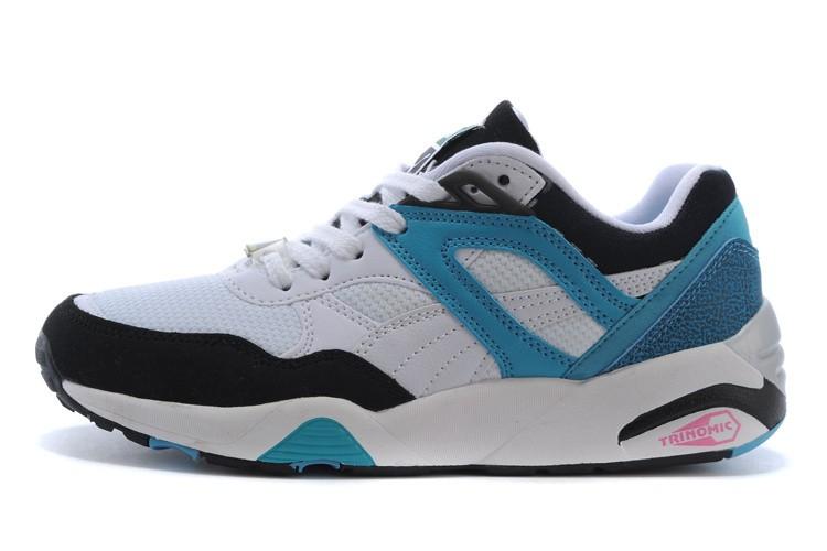 info for 80359 0e6e1 puma trinomic R698 mesh noir blanche bleu,site puma,magasin,Puma-Puma