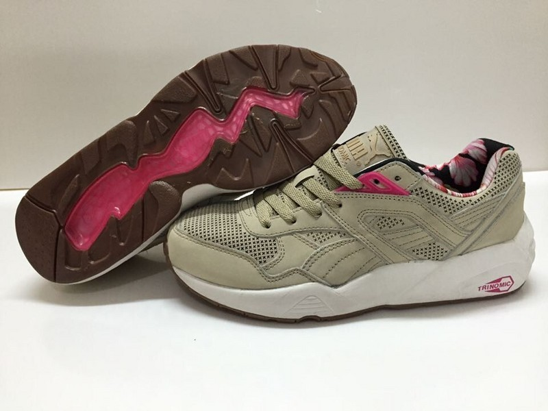 wholesale dealer f803a b1c50 puma trinomic R698 pour homme chocolate blanche beige,puma,Distributeur  Officiel,Reebok Chaussure