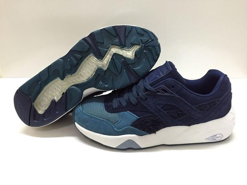 half off 4b637 0892d puma trinomic R698 pour homme navy blanche turquoise,puma chaussure  online,Les achats en