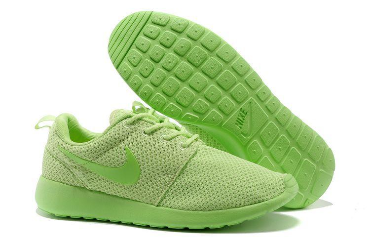 reputable site 41e9d 08965 Acheter Chaussures Nike Roshe Run Femme Vert Mesh DB140,air jordan foot  locker,100