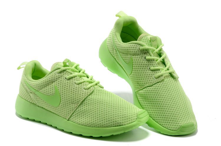 check out e266f 4513d acheter chaussures nike roshe run femme vert mesh db140