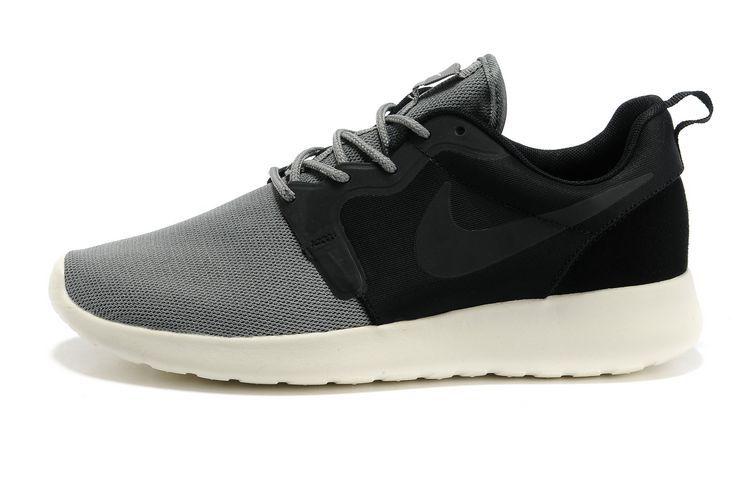 brand new 23d12 bb478 Acheter Chaussures Nike Roshe Run HYP QS Homme Noir Gris KT117,nike air  jordan 5
