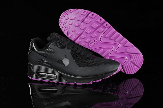 sports shoes 53dd8 8097b Pas Cher Nike Air Max 90 Femme Noir Rose Soldes Chaussures,veste air jordan