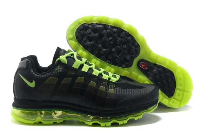the latest 53f5d 2e30a Pas Cher Nike Air Max 95 360 Homme Noir Volt en ligne Chaussures,air