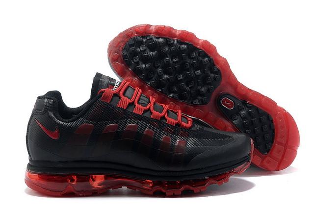 innovative design cdd79 592a8 Pas Cher Nike Air Max 95 360 Femme Noir Rouge Soldes Chaussures,air jordan  11 retro,prix de gros