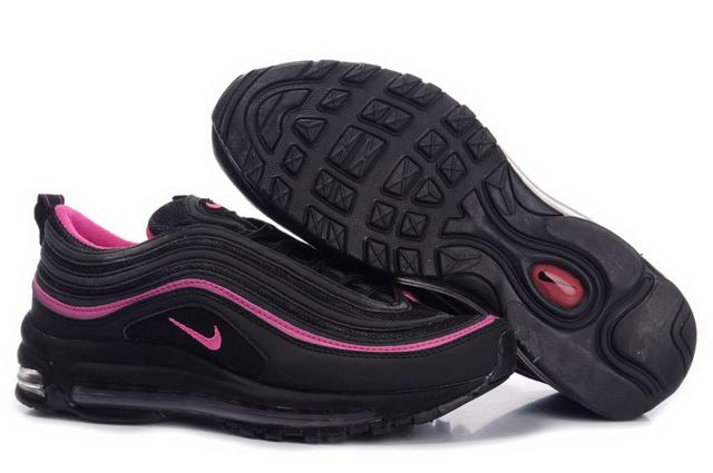 37d566f41e7 Pas Cher Nike Air Max 97 Femme Noir Rouge Violet en ligne Chaussures