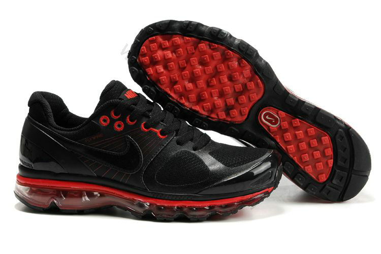 best website cdf1f e5a37 Chaussures Nike Air Max 2010 Homme pas cher Noir et Rouge,air max nike,