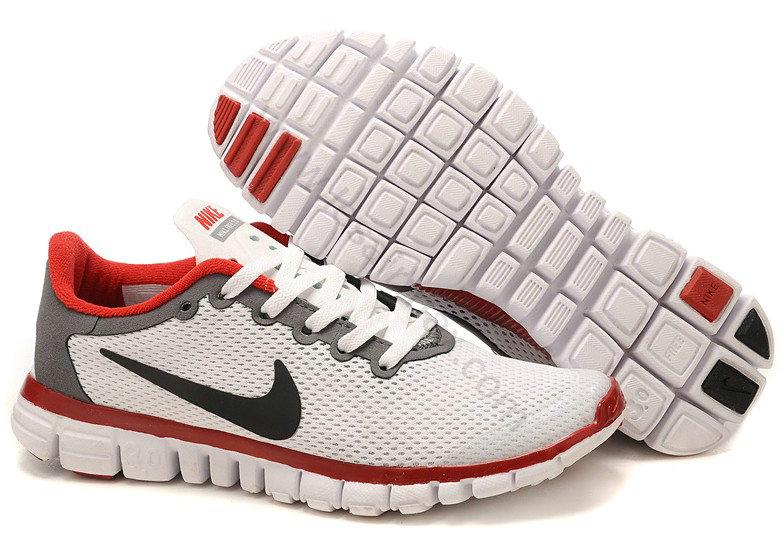 best service 9ae40 eb380 Chaussures Nike Free 3.0 Homme Pas cher Blanc Noir et Rouge,airmax90,beauté,