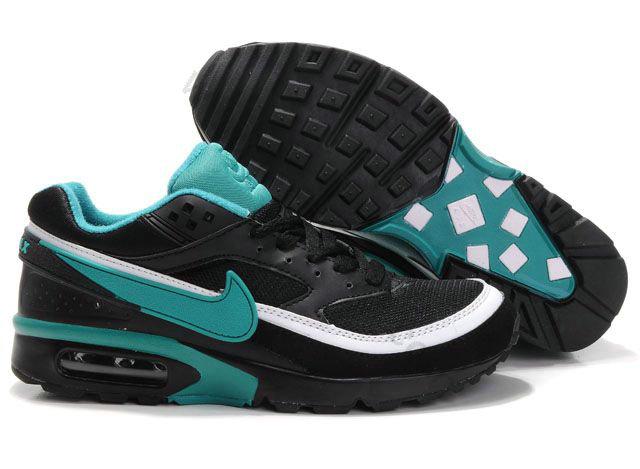 premium selection bc11f a775e Chaussures Nike air max BW Homme Pas cher Noir et Vert,vetement pas cher,