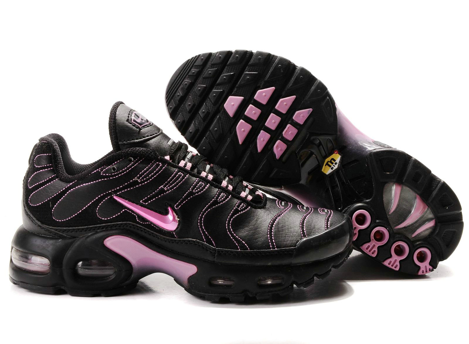 online retailer fb269 bd8e0 Chaussures Nike air max TN femme mode Noir et Rose,airmax90,l unique