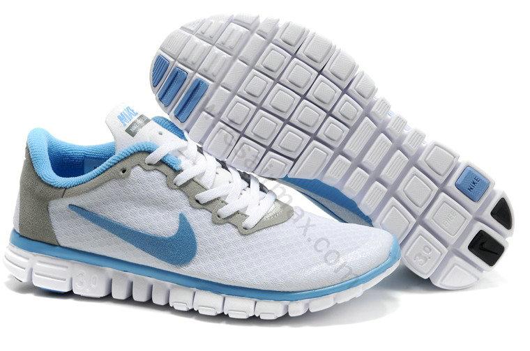 big sale ee80a 2a722 Chaussures Nike Free 3.0 femme Pas cher Blanc et Bleu,escarpins pas  cher,grand