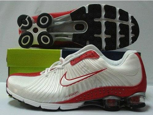 brand new c4af5 72d86 Chaussures Nike shox r4 Homme Pas cher Blanc et Rouge,vetement de marque pas  cher