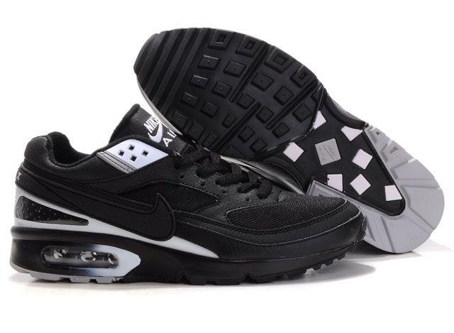 new arrival 69f95 df80c Chaussures Nike air max BW Homme vente chaude Noir et Blanc ,airmax90,boutique,