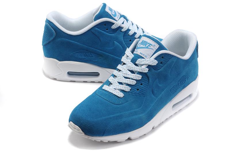 promo code 0d68d 9ee1a Nike Air Max 90 VT Femme Bleublanc,nike requin,100% de garantie authentique