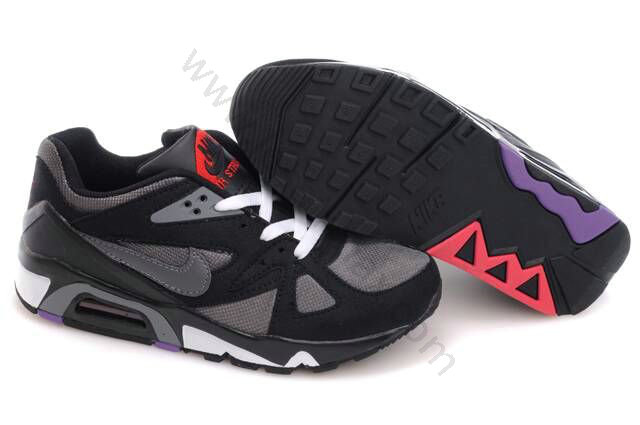 online store d30a8 e7135 Chaussures Nike air max 91 Homme vente chaude Noir Gris et Blanc,maillot de  foot