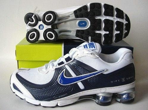huge selection of f10df 35e18 Chaussures Nike shox r4 Homme Pas cher Noir et Bleu,chaussures pas  cher,Boutique